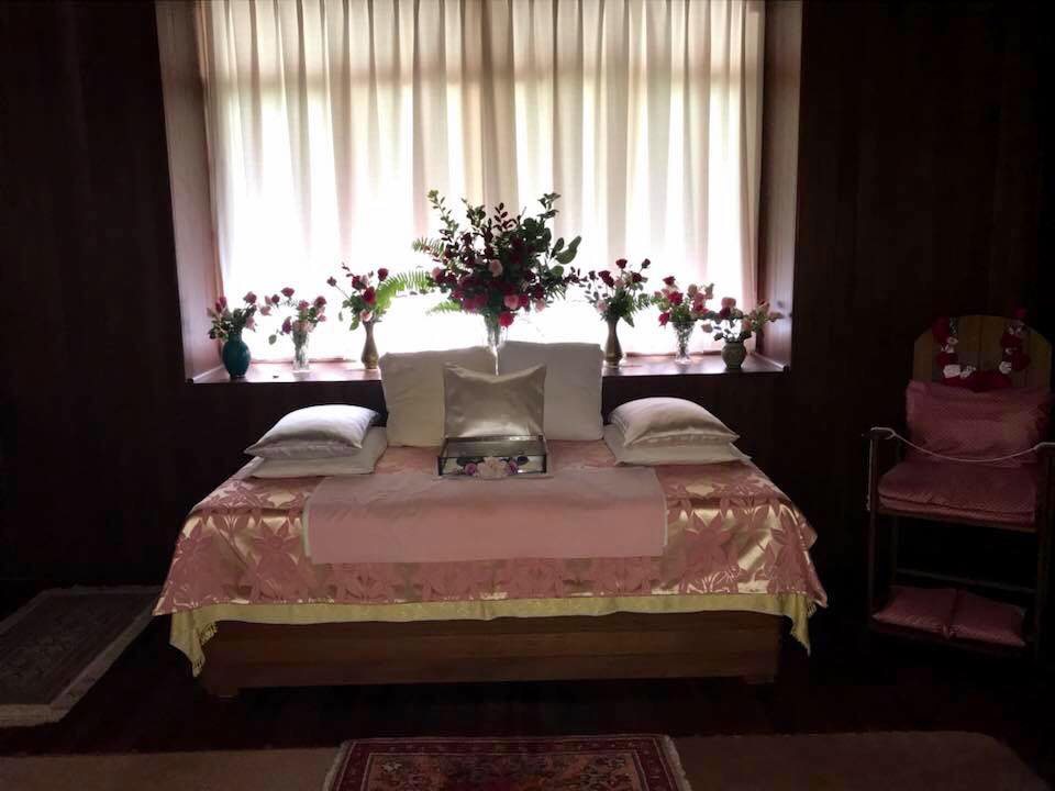 Meher Baba's room at Avatar's Abode